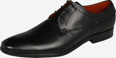 bugatti Derby aus Leder in schwarz, Produktansicht