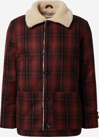 Nudie Jeans Co Zimska jakna 'Mangan Lumber' u tamno plava / hrđavo crvena, Pregled proizvoda