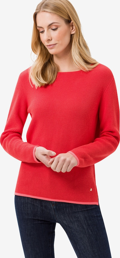 Pulover 'Liz' BRAX pe roșu, Vizualizare model
