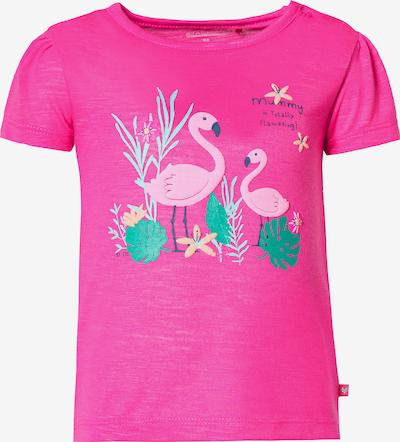 STACCATO T-Shirt in grün / rosa, Produktansicht