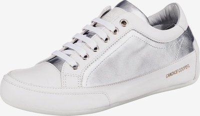 Candice Cooper Sneakers Low in silber / weiß, Produktansicht