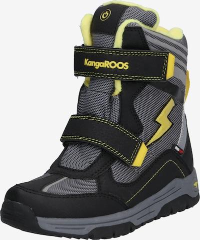 KangaROOS Snowboots 'Snow Flash Boys SL RTX' in gelb / grau / schwarz, Produktansicht