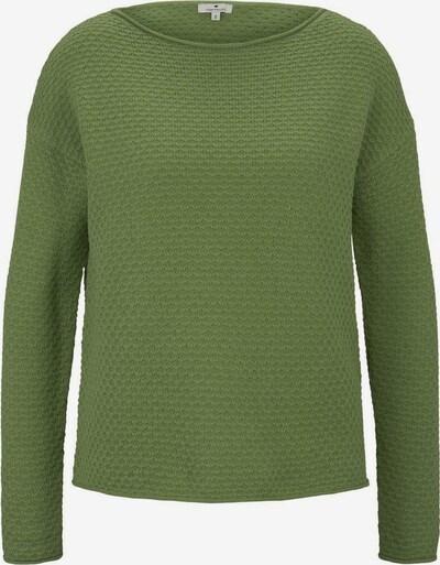 TOM TAILOR Pullover in grasgrün, Produktansicht