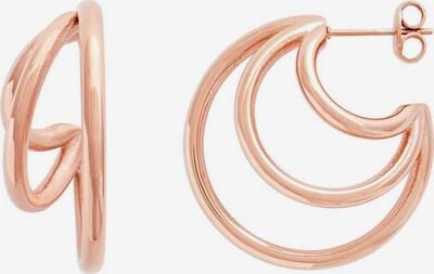 XENOX Ohrringe in rosegold, Produktansicht