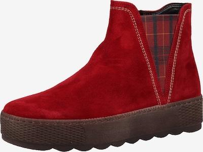 GABOR Stiefeletten in rot / schwarz, Produktansicht
