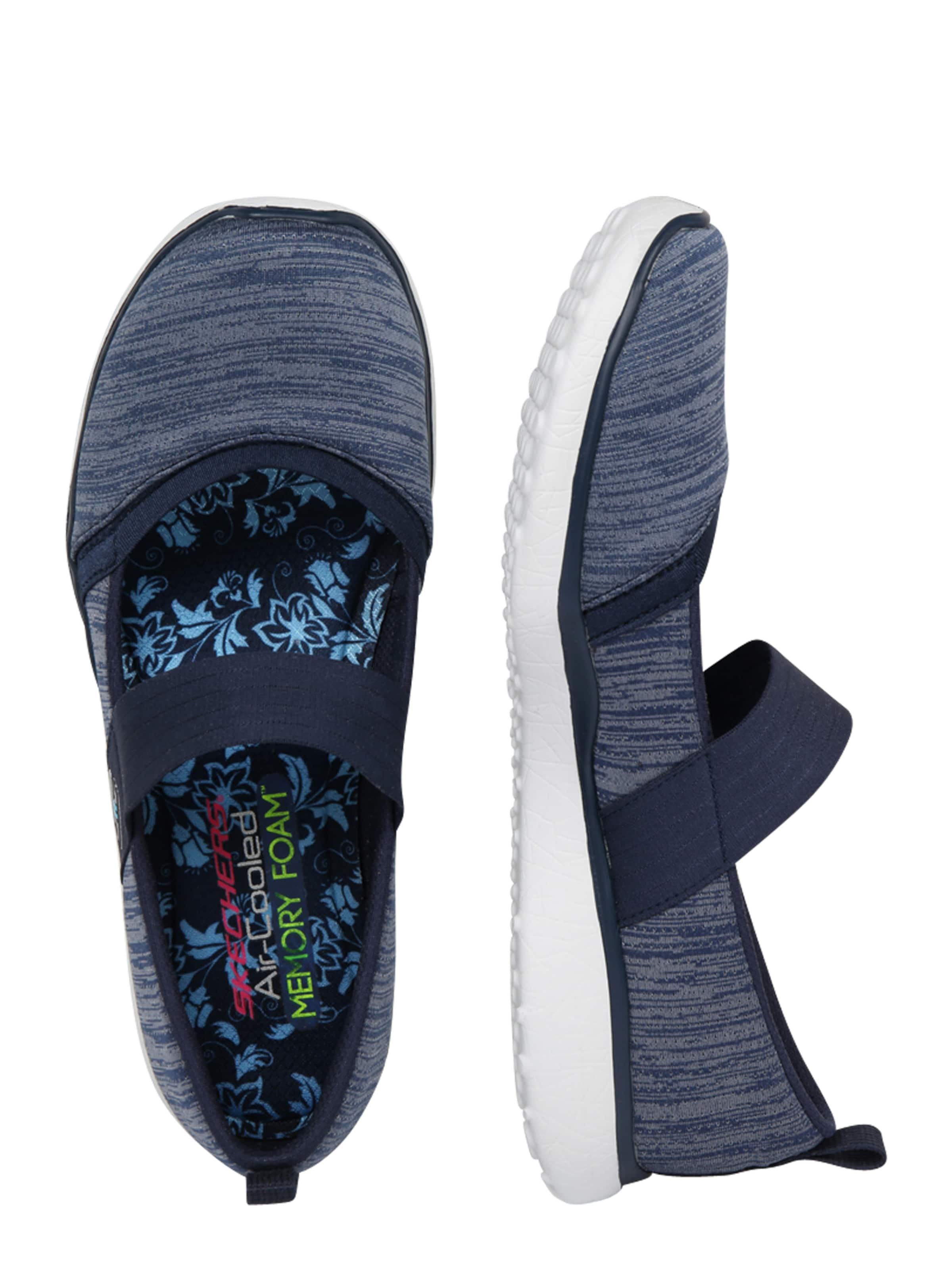 Marine Bleu 'microburst' Skechers En Chaussons XuOlPZwkiT