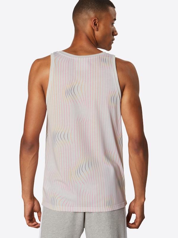 RoseBlanc T shirt 'warped Stripes En Tank' Originals Adidas ynm8Pv0NwO
