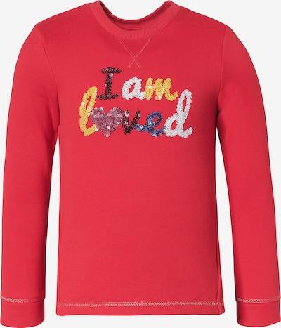 s.Oliver Junior Sweatshirt in mischfarben / hellrot, Produktansicht