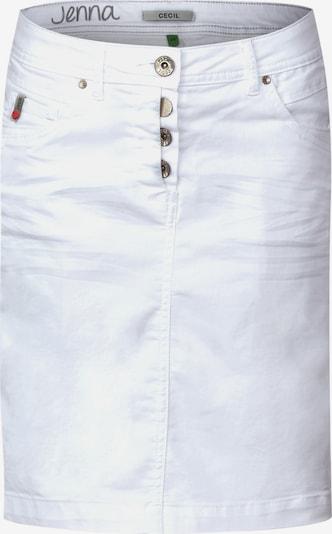 CECIL Rok 'Jenna' in de kleur Wit, Productweergave