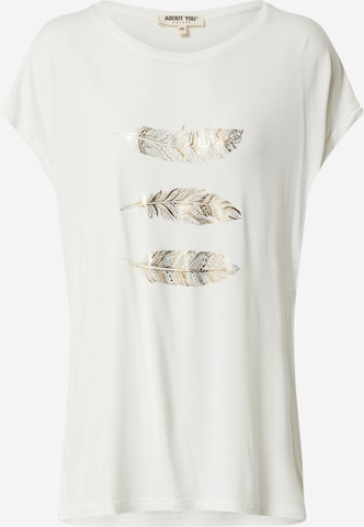 ABOUT YOU Shirt 'Antoinetta' in White