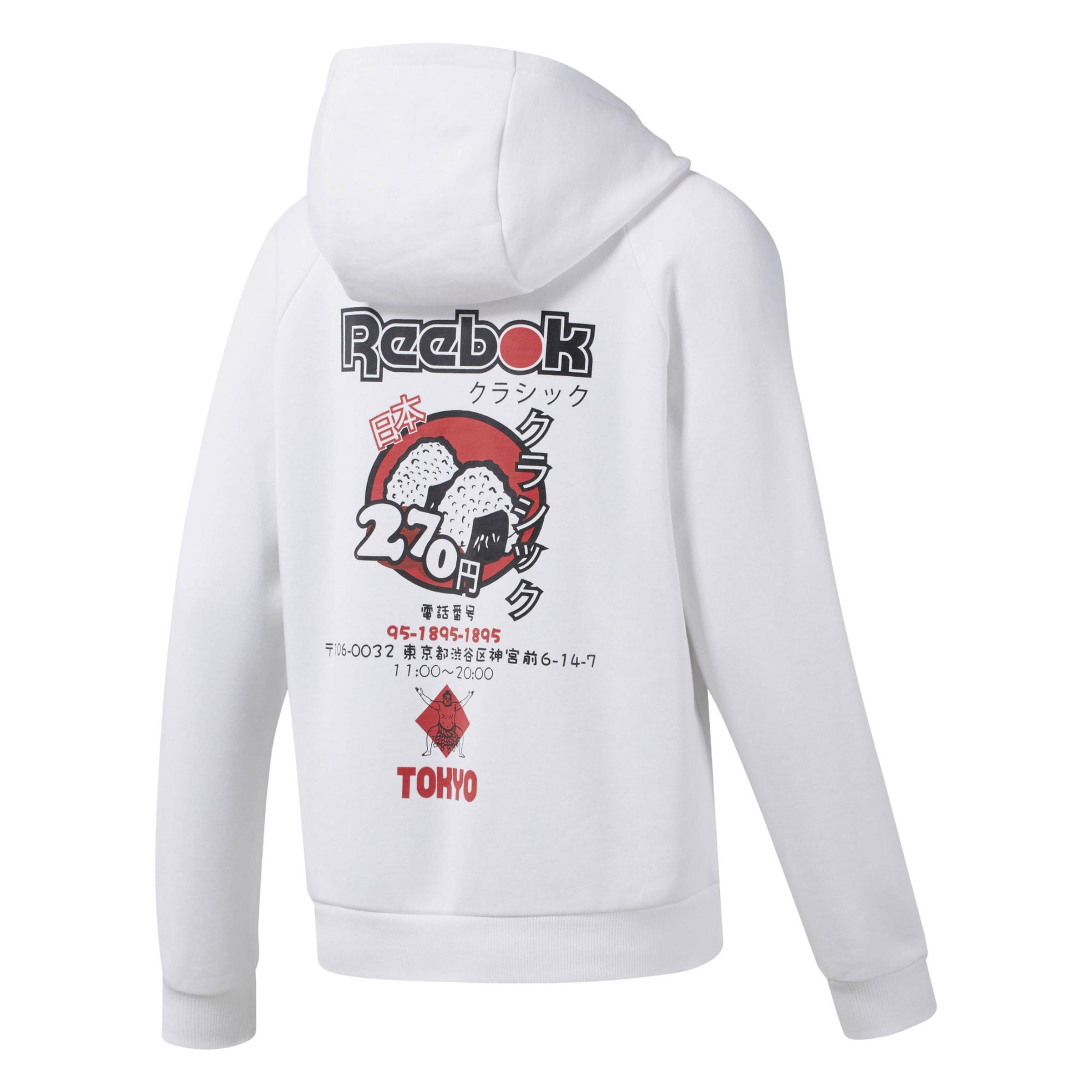 Classic Reebok Hoodie Weiß Reebok In lJTKcF1