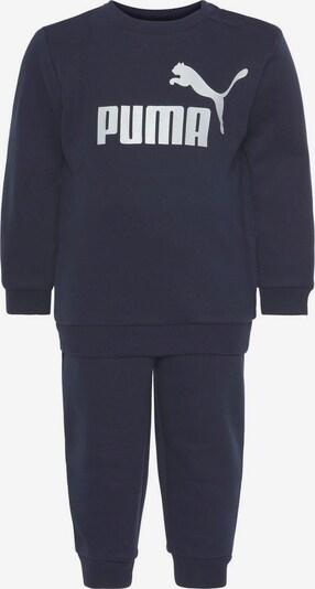 PUMA Jogginganzug 'CREW BABY JOGGER SUIT FLEECE' in dunkelblau, Produktansicht