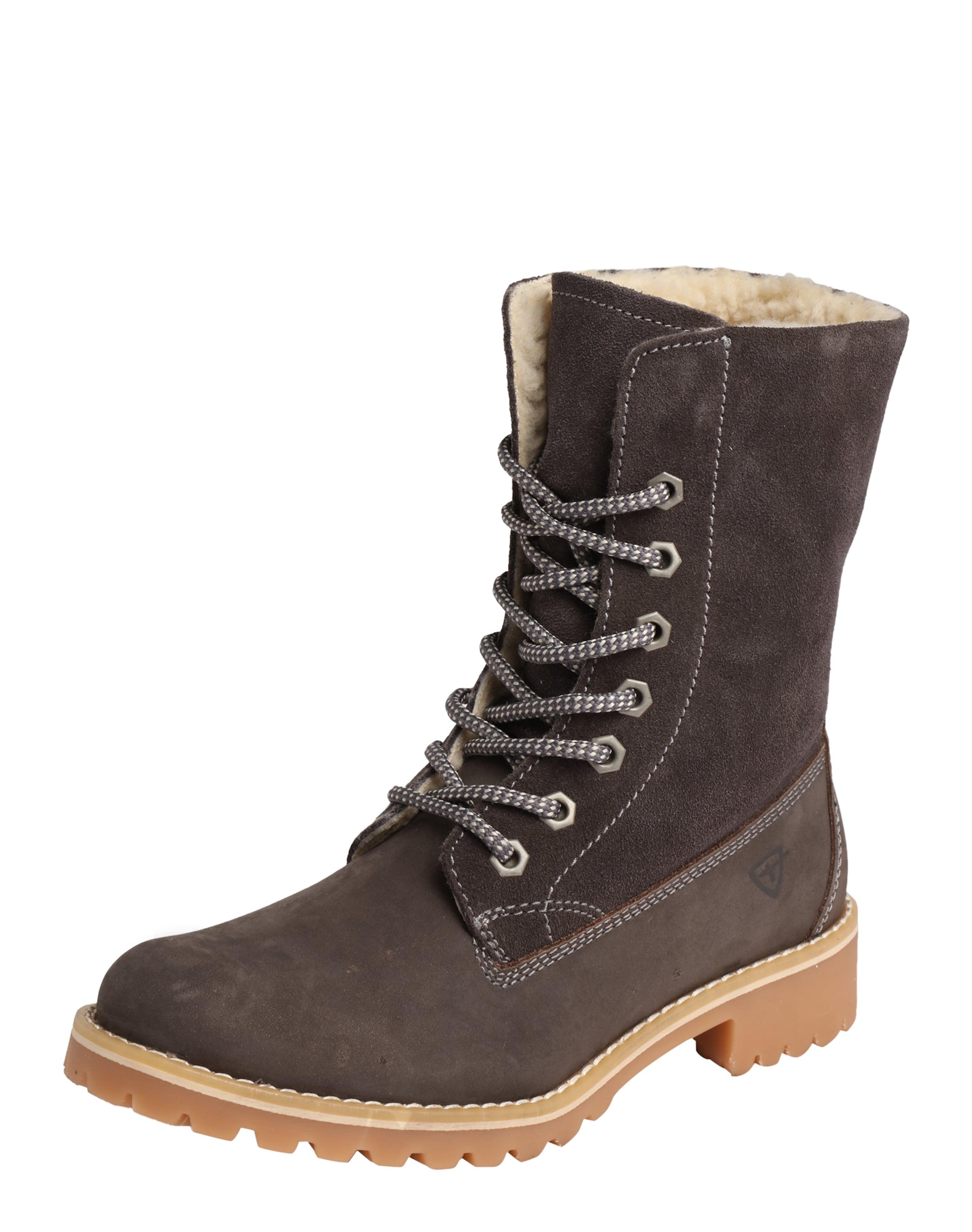 TAMARIS Gefütterter Schnürstiefel Verschleißfeste billige Schuhe