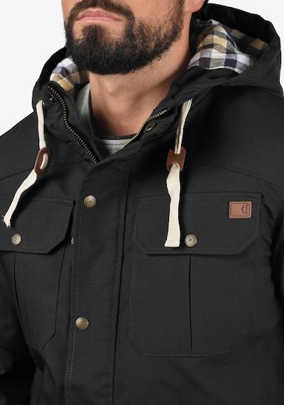 !Solid Outdoorjacke Chara in schwarz, Produktansicht