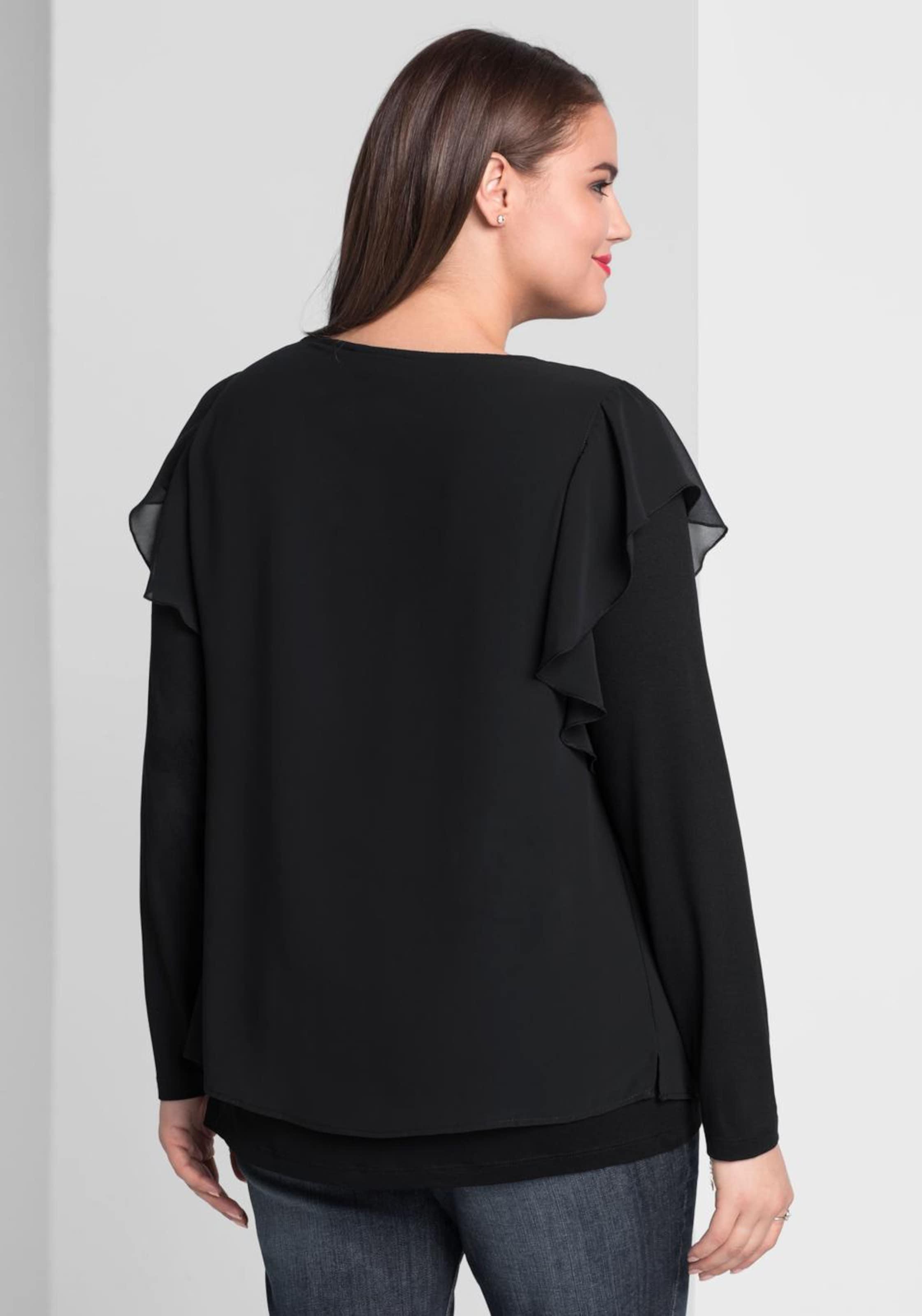 Shirt Shirt Sheego Schwarz Shirt In Schwarz In Sheego Schwarz Sheego Sheego In FcuTlK13J