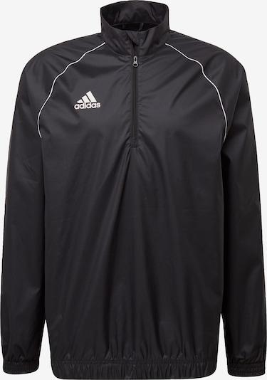 ADIDAS PERFORMANCE Sportjas 'Core 18' in de kleur Zwart / Wit, Productweergave