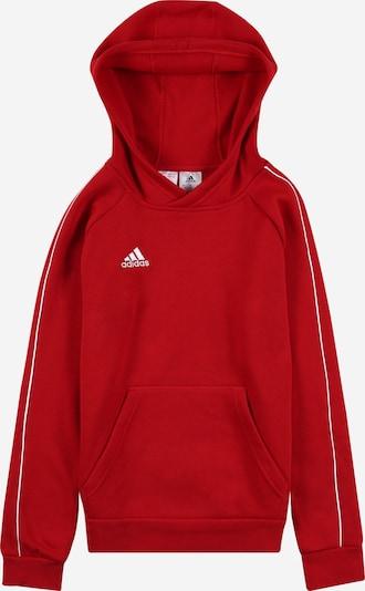 ADIDAS PERFORMANCE Sweat de sport 'Core 18' en rouge feu / blanc, Vue avec produit