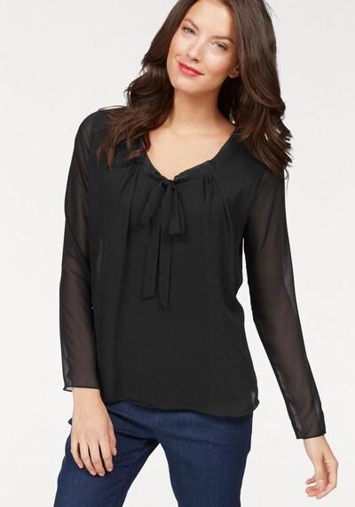 VIVANCE Blusenshirt in schwarz, Modelansicht