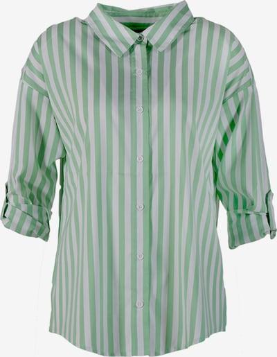 Miracle of Denim Bluse in mint / weiß, Produktansicht