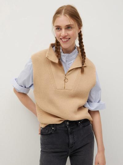 MANGO Jeans 'noa' in grau: Frontalansicht
