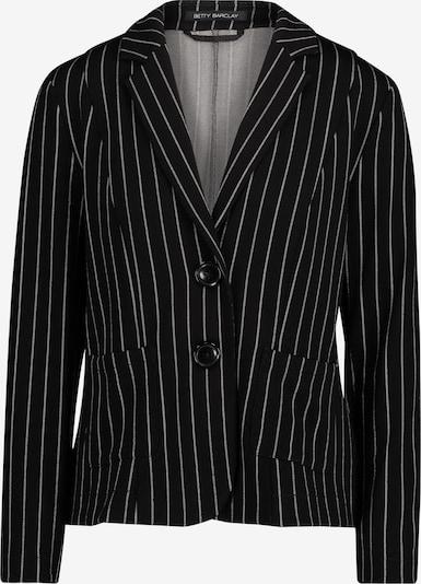 Betty Barclay Blazer-Jacke in schwarz / weiß, Produktansicht