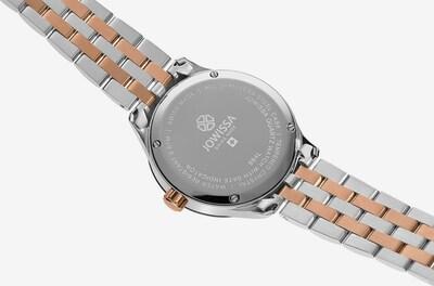 JOWISSA Digitaal horloge 'Tiro' in de kleur Rosé / Zwart / Zilver, Productweergave