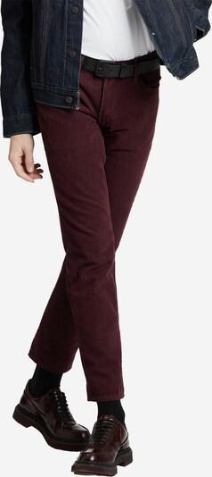 LEVI'S Jeans ' 511 Slim ' in bordeaux, Produktansicht