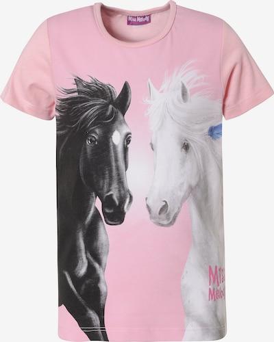 Miss Melody T-Shirt in rosa / schwarz / weiß, Produktansicht