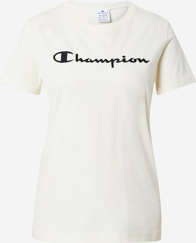 Champion Authentic Athletic Apparel Majica | kremna / črna barva, Prikaz izdelka
