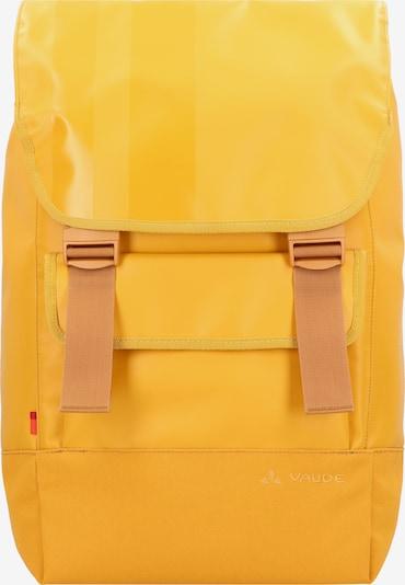 VAUDE Sportrugzak in de kleur Goudgeel, Productweergave