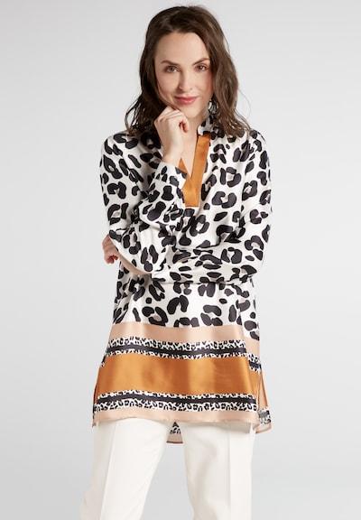 ETERNA Tunika in camel / honig / puder / schwarz / weiß, Modelansicht