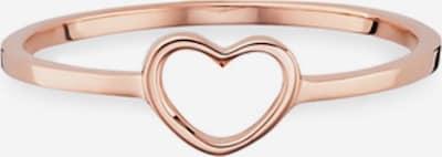 caï Ring 'Love' in rosegold, Produktansicht