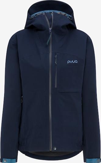 PYUA Outdoorjas 'Gorge' in de kleur Blauw, Productweergave