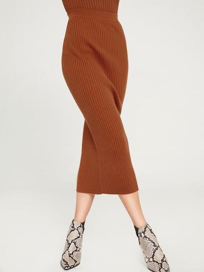 Sijonas 'Gianna' iš EDITED , spalva - tamsiai oranžinė, Modelio vaizdas