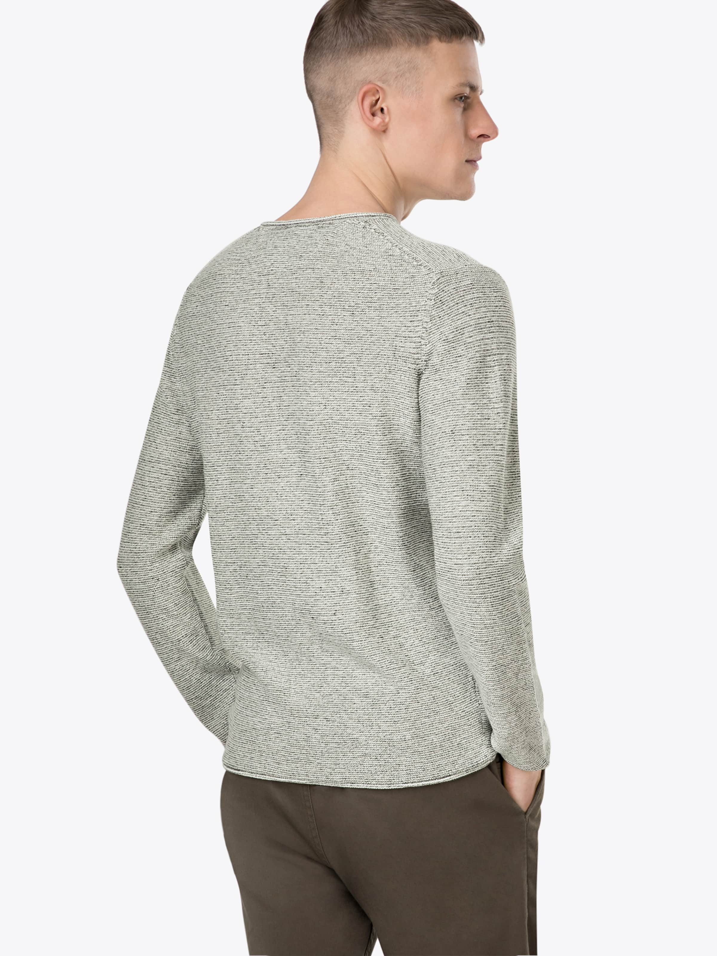 Rauchgrau 'crew Co' O'polo Pullover Marc Neck 69 31 Li In eDH9YIWEb2