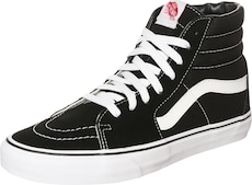 VANS Členkové tenisky 'SK8-HI' - čierna / biela