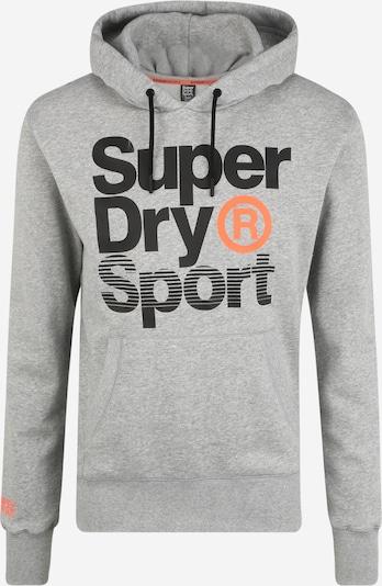 Superdry Sport-Sweatshirt 'CORE SPORT OVERHEAD' in grau / schwarz, Produktansicht