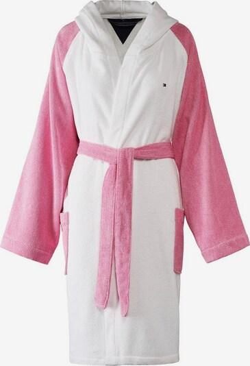 TOMMY HILFIGER Mantel »Sweater« in rosa / weiß, Produktansicht