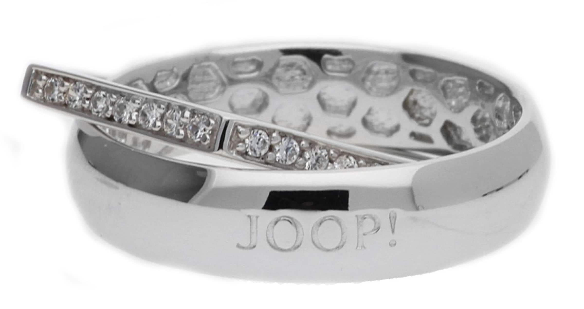 JOOP! Fingerring Silber Silber Edged Rabatt Zuverlässig LFWy2XB