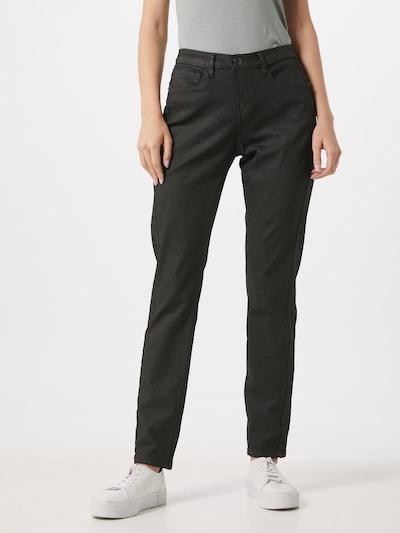 OPUS Jeans 'Emily' in de kleur Zwart, Modelweergave