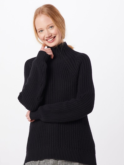 GAP Pullover 'SHAKER TNECK' in schwarz, Modelansicht