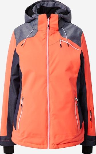 KILLTEC Sportska jakna 'Combloux' u plava / svijetloplava / neonsko narančasta, Pregled proizvoda