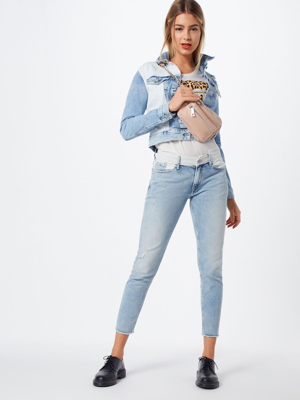 Jeans Mix' Blauw Pepe 'tess Denim In Tussenjas If76vbyYg