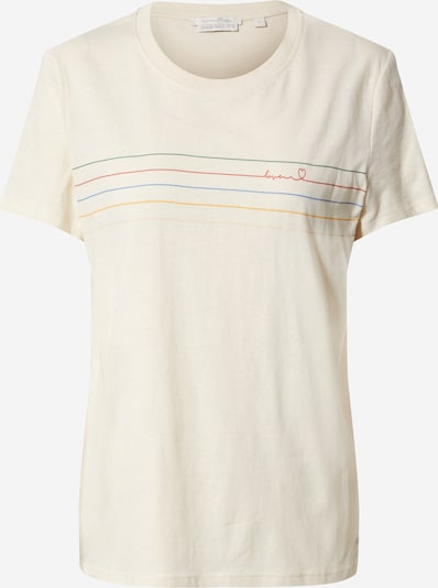 TOM TAILOR DENIM T-Shirt in beige, Produktansicht
