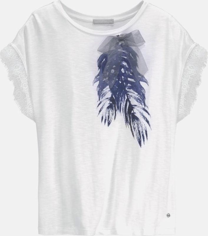 Guido Maria Kretschmer T-Shirt in blau   weiß  Großer Rabatt