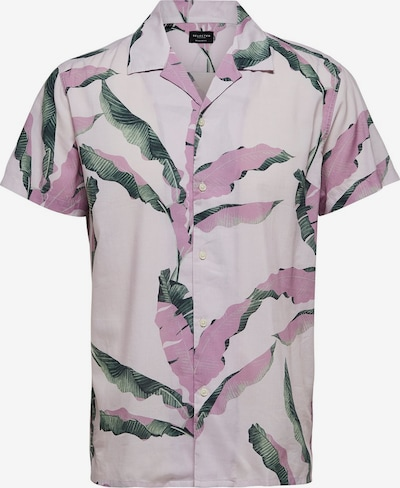 SELECTED HOMME Hemd in tanne / pink / pastellpink: Frontalansicht