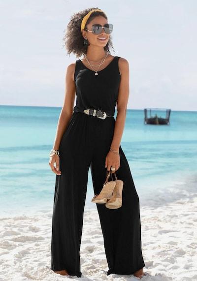 BUFFALO Combinaison en noir, Vue avec modèle