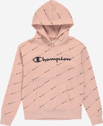 Champion Authentic Athletic Apparel Majica | roza / črna barva: Frontalni pogled