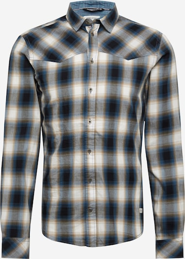 BLEND Koszula 'Ambitious' w kolorze beżowy / niebieski / offwhitem, Podgląd produktu