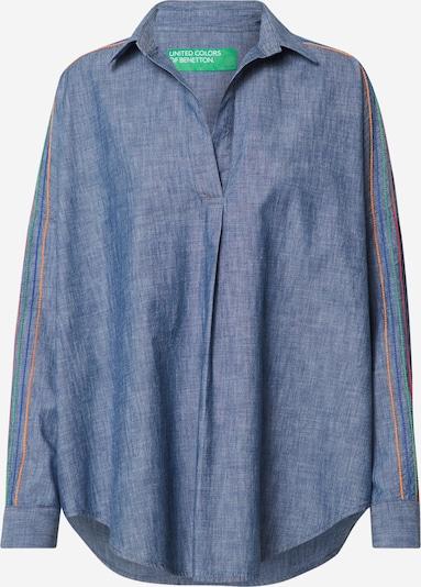 UNITED COLORS OF BENETTON Bluse in blue denim, Produktansicht